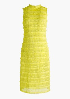 J.Crew Sheath dress in fringy lace