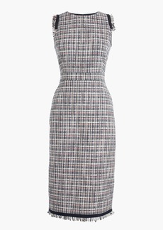 Sheath dress in lightweight tweed
