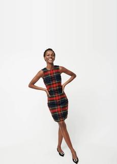 J.Crew Sheath dress in Lurex® Stewart tartan