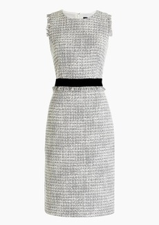 J.Crew Sheath dress in metallic tweed