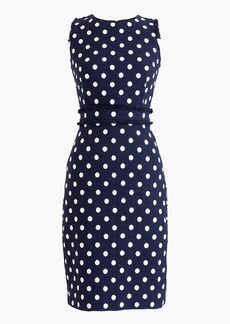 J.Crew Sheath dress in spotted tweed