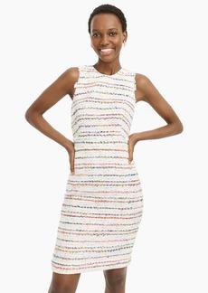J.Crew Sheath dress in white multicolor tweed