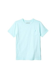 J.Crew Short Sleeve Garment Dye Pocket Tee (Toddler/Little Kids/Big Kids)
