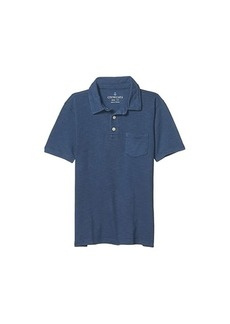 J.Crew Short Sleeve Garment Dye Polo (Toddler/Little Kids/Big Kids)