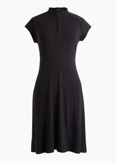 J.Crew Short-sleeve keyhole dress