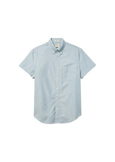 J.Crew Short Sleeve Solid Oxford