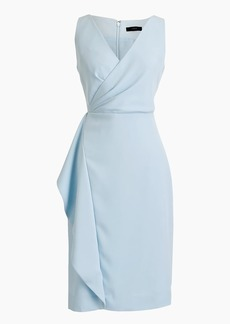 J.Crew Side-sash dress in 365 crepe