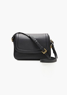 J.Crew Signet flap bag in Italian leather