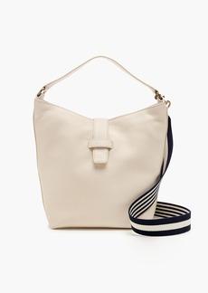 J.Crew Signet hobo bag in Italian leather