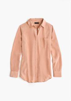 J.Crew Silk button-up shirt