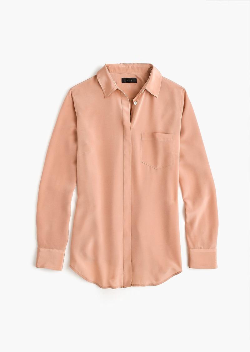 c36abcb6ed99c J.Crew Silk button-up shirt Now  74.99