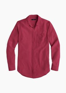 J.Crew Silk button-up shirt