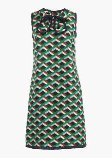 Silk dress in Ratti® graphic diamond