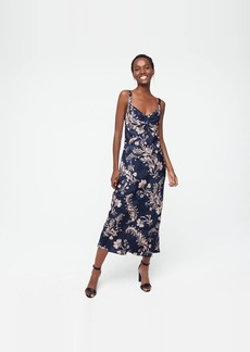 J.Crew Silk midi dress in baroque floral
