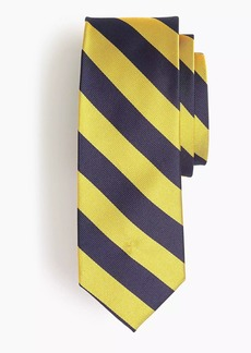 J.Crew Silk repp striped tie