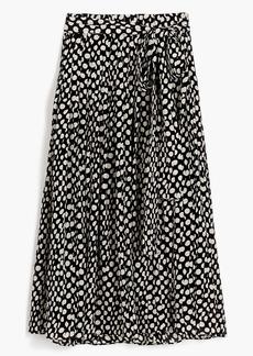 Silk skirt in Ratti® polka dot