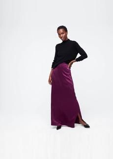 J.Crew Silk slip skirt