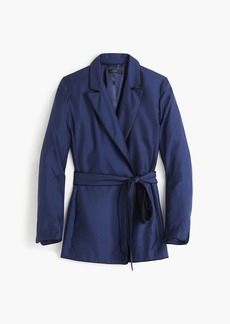 J.Crew Silk wrap blazer