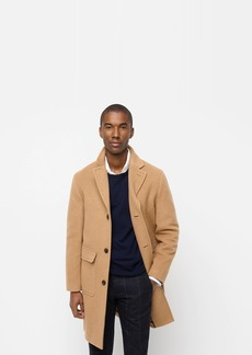 J.Crew Single-breasted topcoat in camel hair