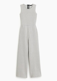 J.Crew Sleeveless Lurex® jumpsuit with velvet tie