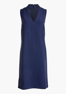 J.Crew Sleeveless V-neck dress in lightweight twill