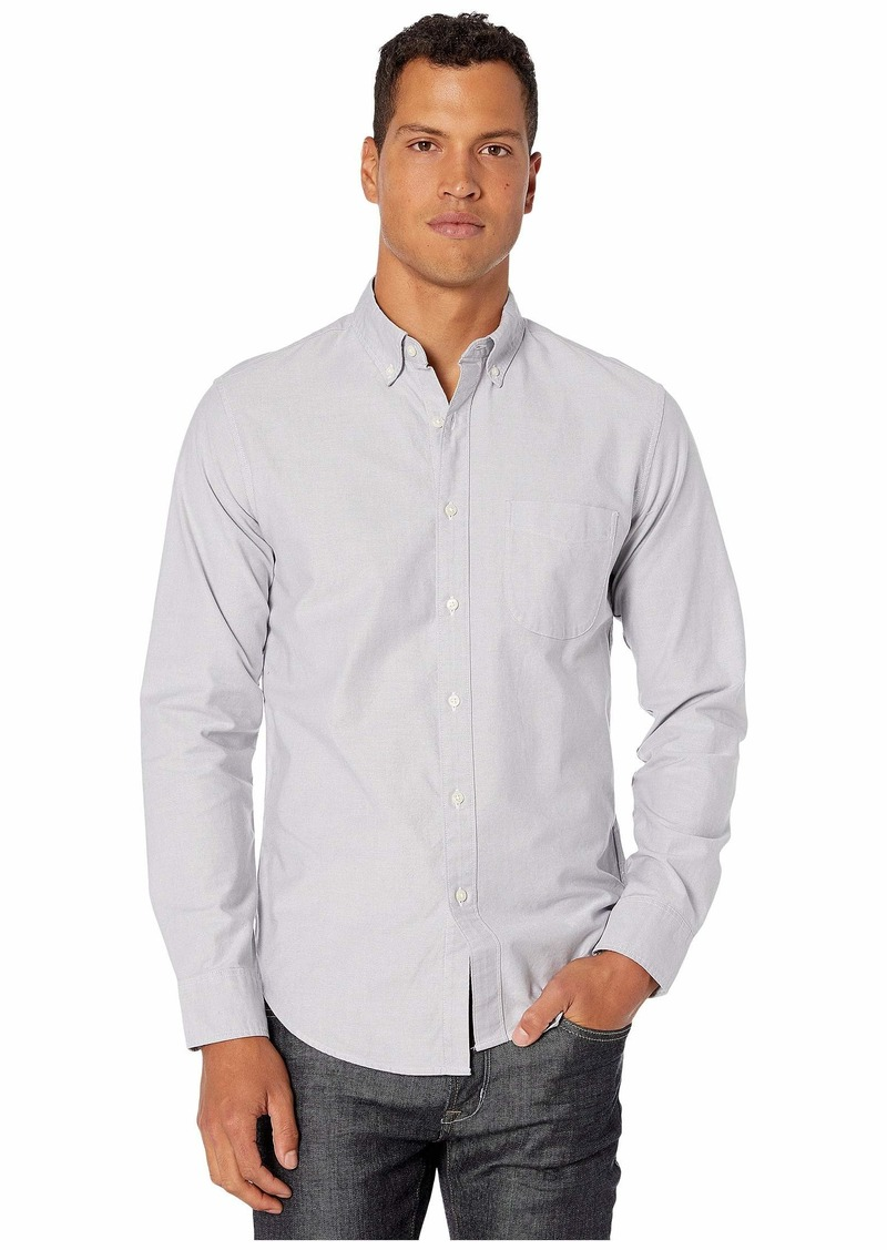 J.Crew Slim American Pima Cotton Oxford Shirt with Mechanical Stretch