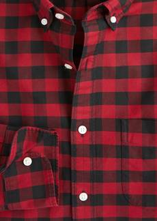 J.Crew Slim American Pima cotton oxford shirt with mechanical stretch in mini check