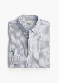 J.Crew Slim American Pima cotton oxford shirt with mechanical stretch in stripe