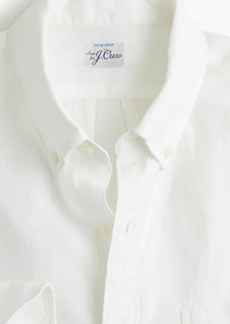 J.Crew Slim Baird McNutt Irish linen shirt