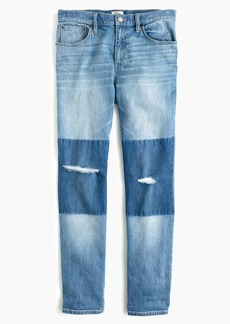 J.Crew Slim boyfriend jean with shadow patches