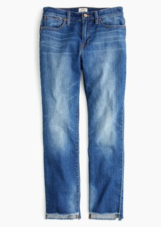 J.Crew Petite slim broken-in boyfriend jean with step hem