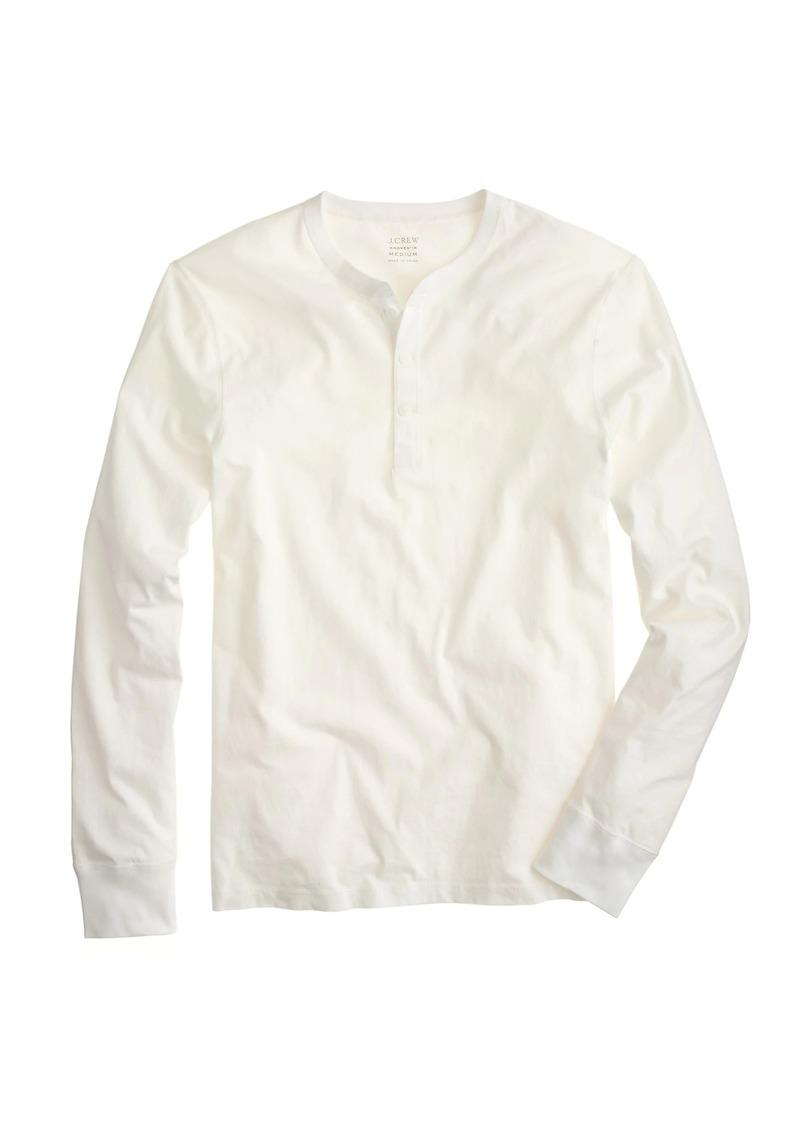 e7225fa9 J.Crew Slim broken-in henley | Casual Shirts