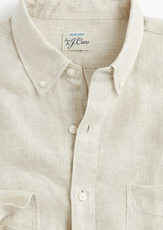 J.Crew Slim délavé Irish linen shirt