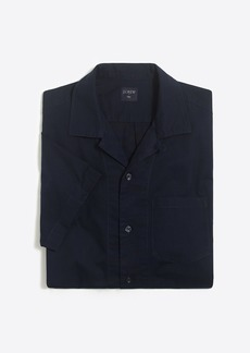 Slim-Fit Lightweight Chino Camp-Collar Shirt