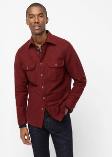 J.Crew Slim heavyweight chamois workshirt in mini check