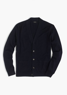 J.Crew Slim Italian merino wool cardigan sweater