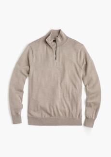 J.Crew Slim Italian merino wool half-zip sweater