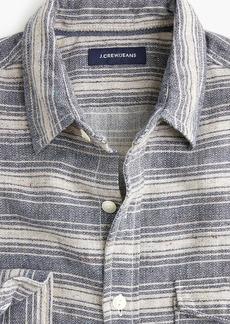 J.Crew Slim Japanese slub herringbone shirt