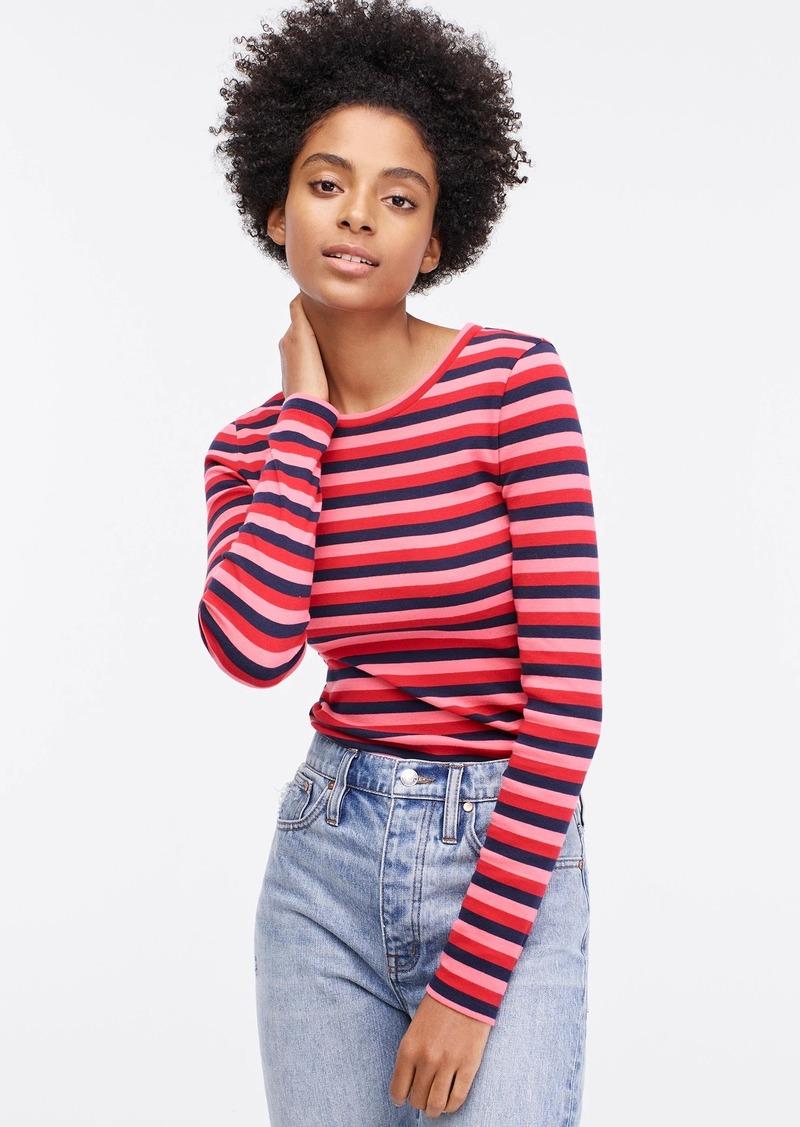 J.Crew Slim perfect long-sleeve T-shirt in stripes