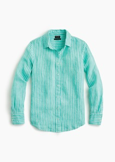 J.Crew Slim perfect shirt in striped Irish linen