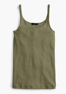 J.Crew Slim perfect tank top with built-in bra