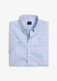 J.Crew Slim short-sleeve flex washed shirt