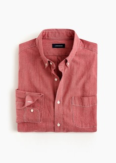 J.Crew Slim stretch colored chambray shirt