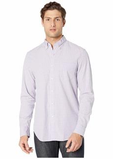 J.Crew Slim Stretch Secret Wash Shirt in Basic Gingham Organic Cotton