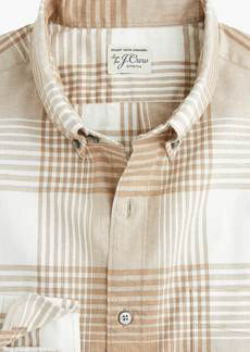 J.Crew Slim stretch Secret Wash shirt in bold plaid