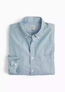 J.Crew Stretch Secret Wash shirt in end-on-end cotton