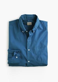 J.Crew Slim stretch Secret Wash shirt in garment-dyed solid poplin