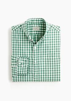 J.Crew Slim stretch Secret Wash shirt in medium gingham