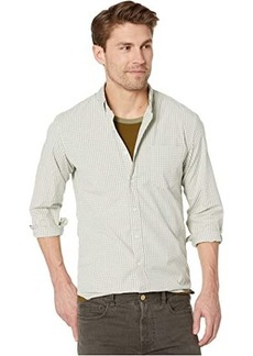 J.Crew Slim Stretch Secret Wash Shirt in Organic Cotton Classic Gingham