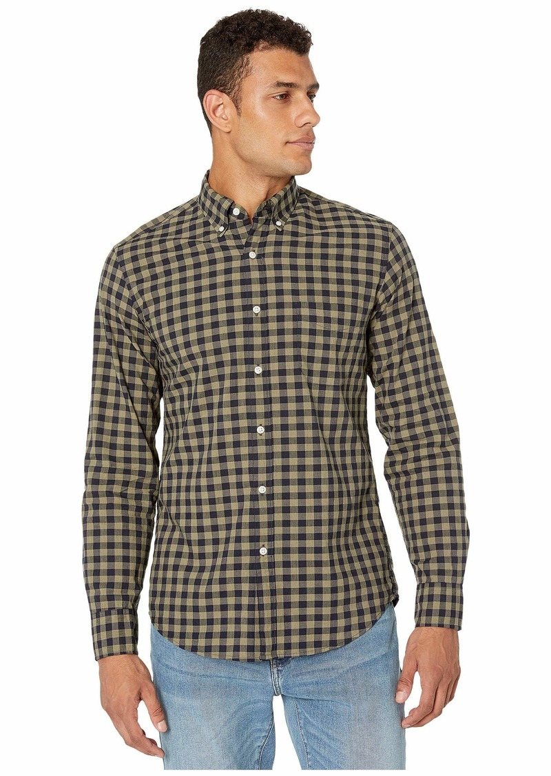J.Crew Slim Stretch Secret Wash Shirt in Organic Cotton Gingham
